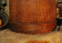 Antique Firkin C Wilder and Son South Hingham Mass 19th Century