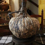 Antique Gourd Vessel.. Held Wine or Spirits Neat