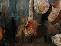 Primitive Gourd Cupboard Hanging with Autumn Flavor