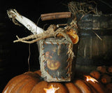 Halloween Primitive Candy Containers