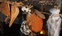Halloween Primitive Mystical Garland
