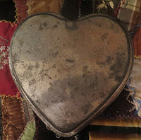 Heart Pan Butter Paddle Primitive Kitchen Gathering