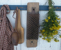 Antique Primitive Hetchel Hatchel Flax Comb