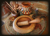 Mortar and Pestle Circular Form Neat