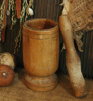 Early 1900's Mortar and Pestle Nice Form For Your Pantry
