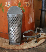 Old Advertising Tool Bag Bowl Nutmeg Grater Cookie Cutters Candle Gathering