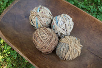 Dough Bowl Trencher Early Rag Balls Gathering