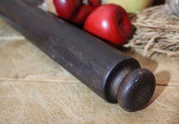 Late 19th Century Carved Rolling Pin Great Patina
