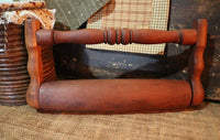 Pennsylvania Dutch Rolling Pin Draalhus Neat
