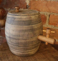 Stoneware Old Rundlet Barrel Unique