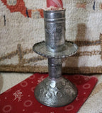 Early Sand Weighted Candle Holders with Decoration