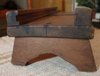 Cabbage Cutter Table Version Slide Box Dovetailed with Bowl