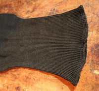 Early Black Stockings Socks with Make ~Do Repairs Great for the Holidays