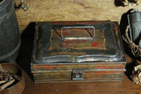 Antique 19th Century Spice Box