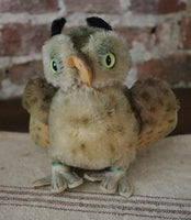 Steiff Owl Wittie Marked Germany Adorable