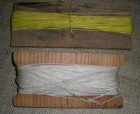 Old Wooden Pair of Primitive String or Yarn Winders