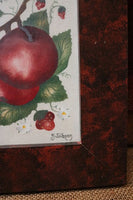 Theorem Apple Painting Signed by Pennsylvania Artist