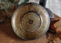 Gourd Storage Jar Old Tin Lid Unique