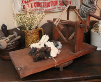 Antique Yarn Winder Unusual Table Version Neat
