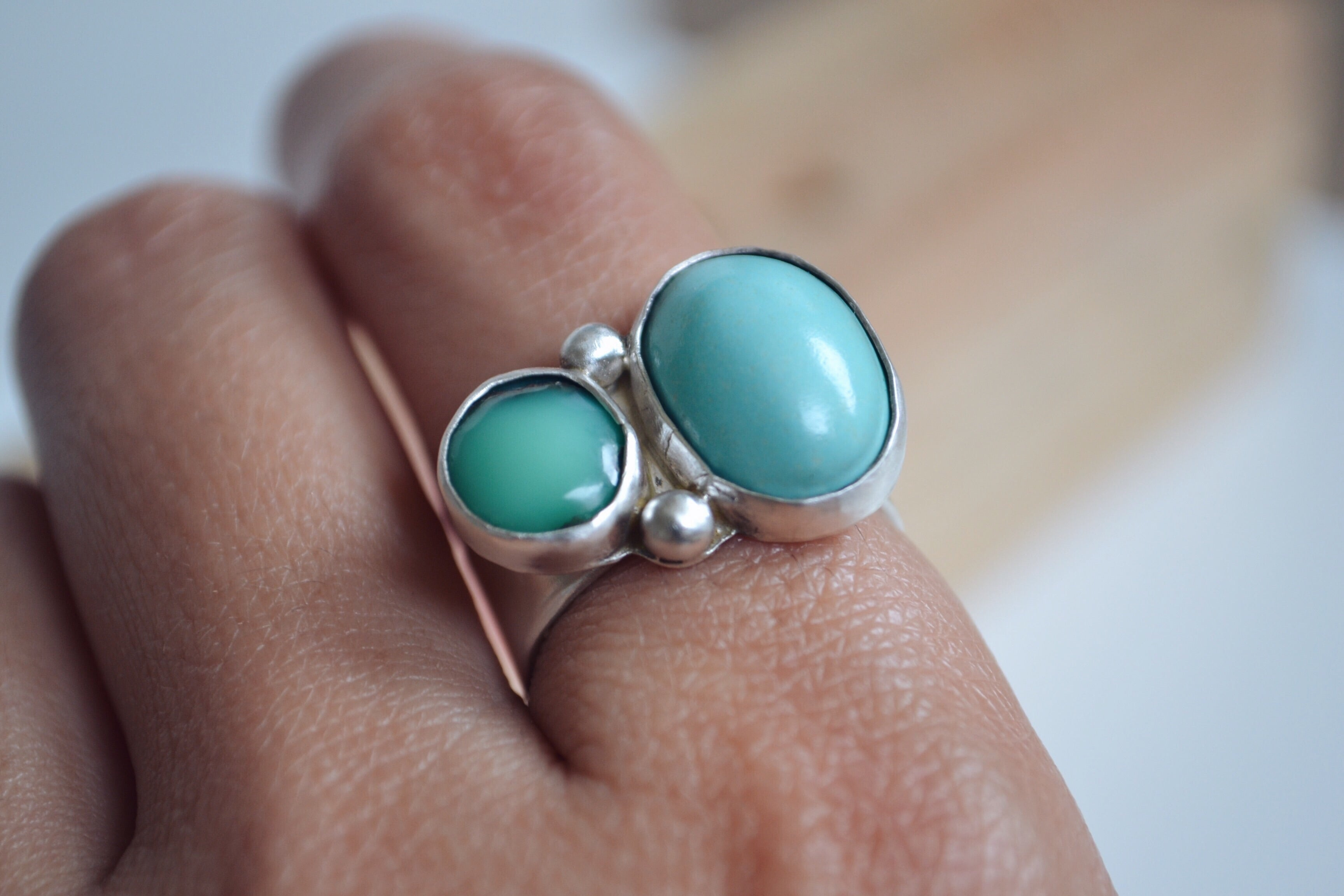 Turquoise Ring (size 7)