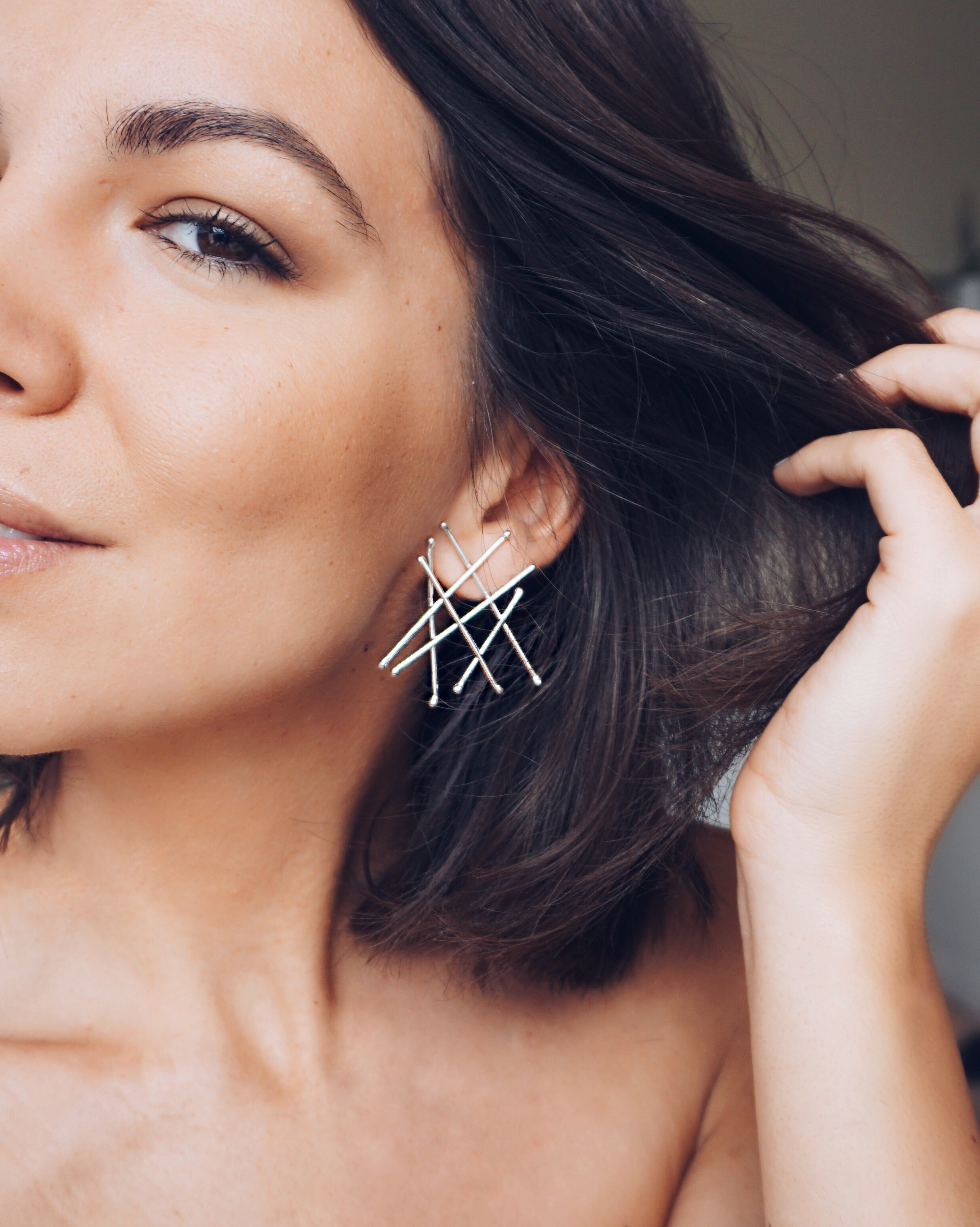 Pin Earrings