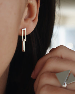 Mini-Geometric Earrings