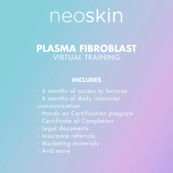 Plasma Skin Tightening / Fibroblast Virtual Training