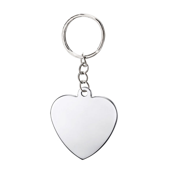 Heart Keychain (Rounded)