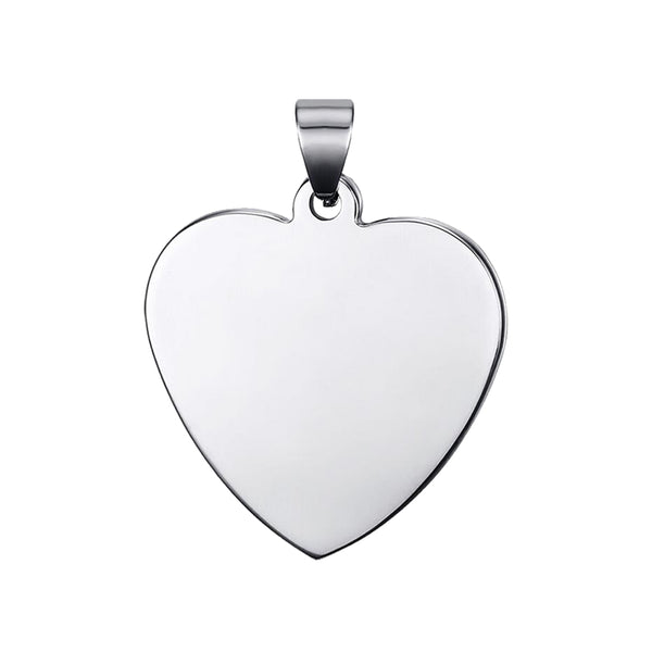 Heart Pendant (Rounded)