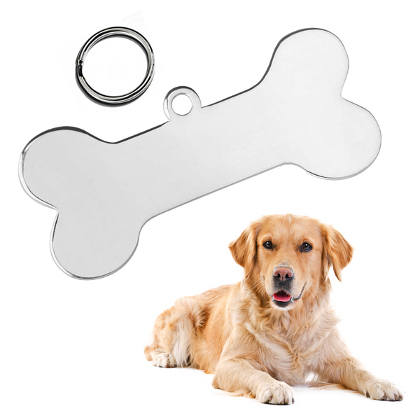 Bone Pet ID Tag (Large)