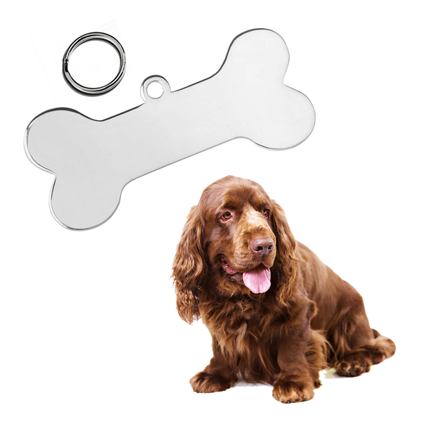 Bone Pet ID Tag (Medium)