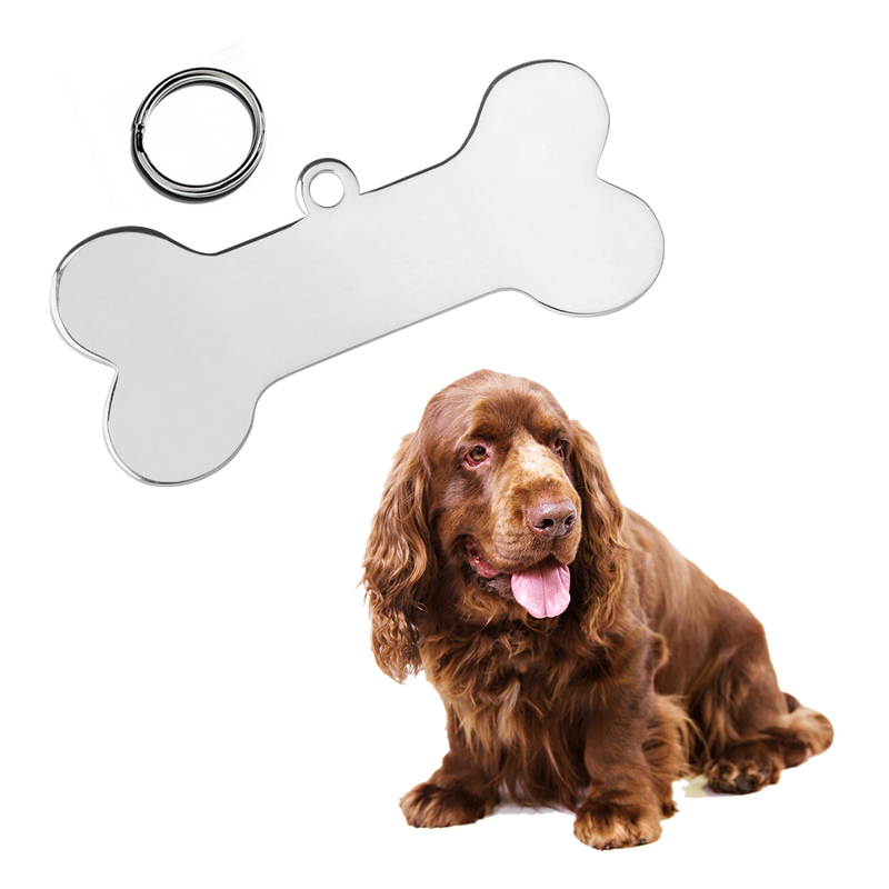Bone Pet Tag (Medium)