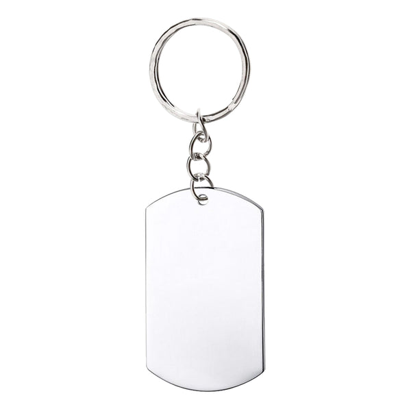 Military Dogtag Keychain (Large)