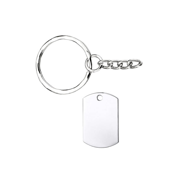 Military Dogtag Keychain (Small)
