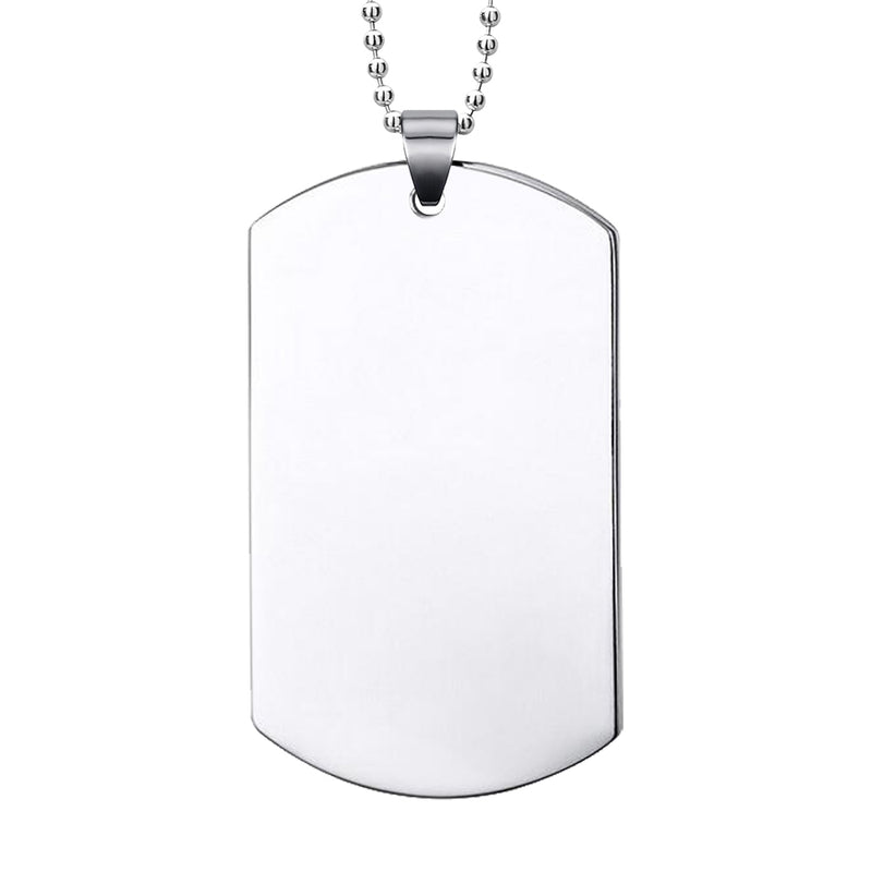 Military Dogtag Pendant (Large)