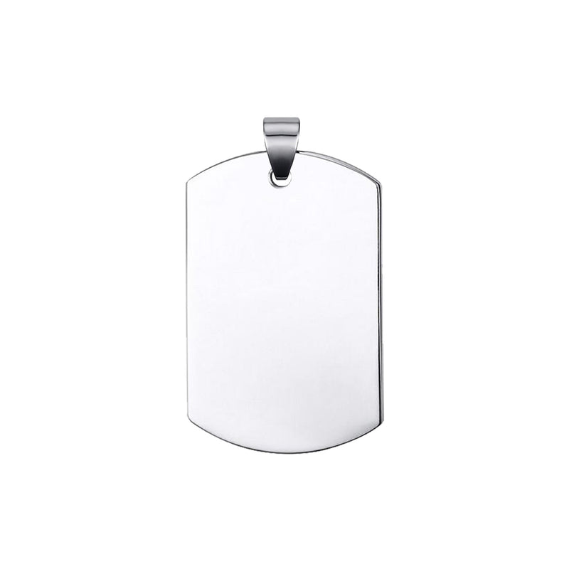 Military Dogtag Pendant (Medium)