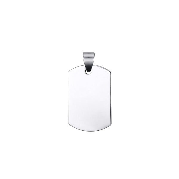 Military Dogtag Pendant (Small)