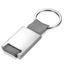 Nylon Keychain (Gray)