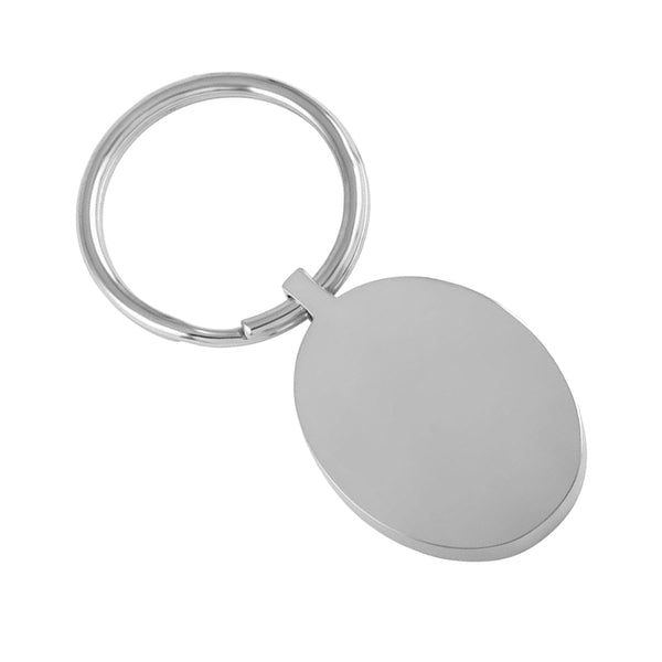 Oval Keychain (Deluxe)