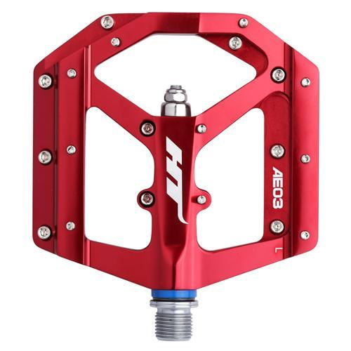 HT-Components AE03 Flat Pedal Softgoods Intense LLC RED