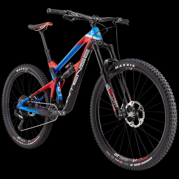 NEW 2019 || CARBINE PRO BUILD || Shipped from March'19 onwards BIKES Intense Cycles Inc. Red/Blue Small