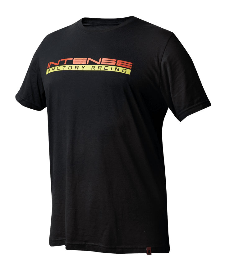 INTENSE Factory Racing Tee Black Softgoods Intense LLC S