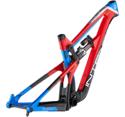 "2020 CARBINE FACTORY FRAME AND SHOCK BIKES ENDURO / 29"" / 155mm GLOSS RED/BLUE M"