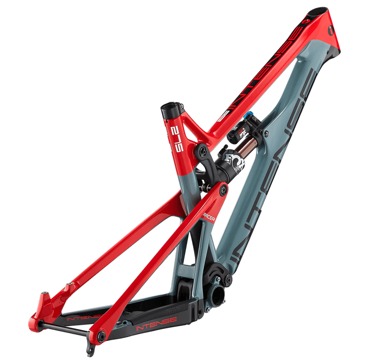 "2020 TRACER FACTORY FRAME AND SHOCK BIKES ENDURO / 27.5"" / 165mm GLOSS RED/SLATE S"