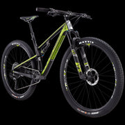 "2019 SNIPER XC EXPERT BUILD BIKES XC / 29"" / 100mm Green/UD Carbon S"