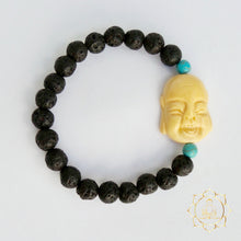 Lava Stone Bracelet - Laughing Buddha Natural Essential Oil Diffuser