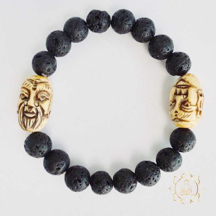 Lava Stone Bracelet - Two Wise Men Natural Essential Oil Diffuser