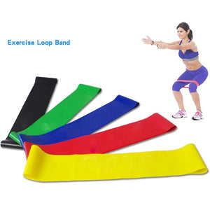 Resistance Bands fitness Loop Yoga Pilates Home GYM Fitness Exercise Workout Training pull up Rubber Bands 2018 Wholesale