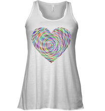Heart For Art Soft Blend Flowy Sleeveless Women Tank Top