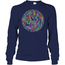 World of Stars Soft 100% Cotton Long Sleeve Men Women Unisex T-Shirt